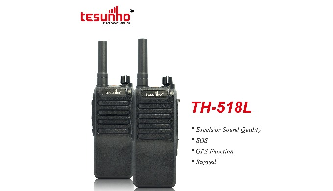 TH-518L is a robust walky talky with big battery capacity. Main Features: 1. SOS (Alarm button) 2. G...