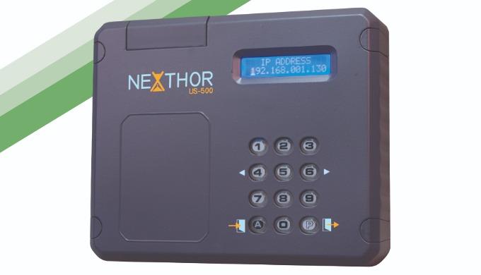 NEXTHOR: Sistema de gestión de tiempo con IP (fichar mediante código)