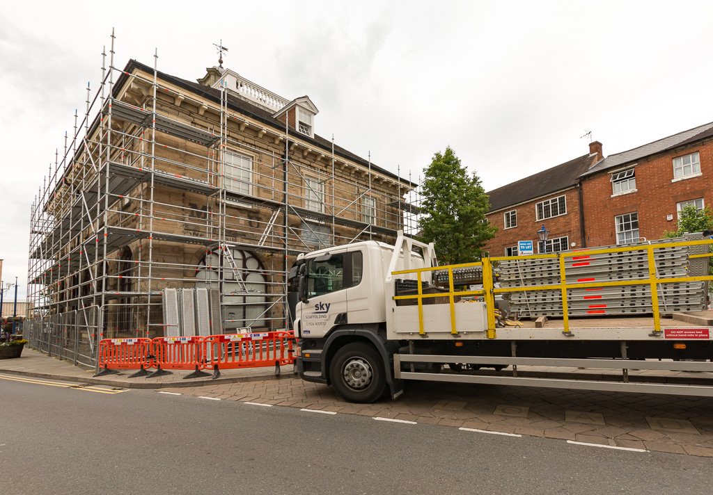Sky Scaffolding specialise in the supply and erection of the full range of scaffolding hire equipmen...
