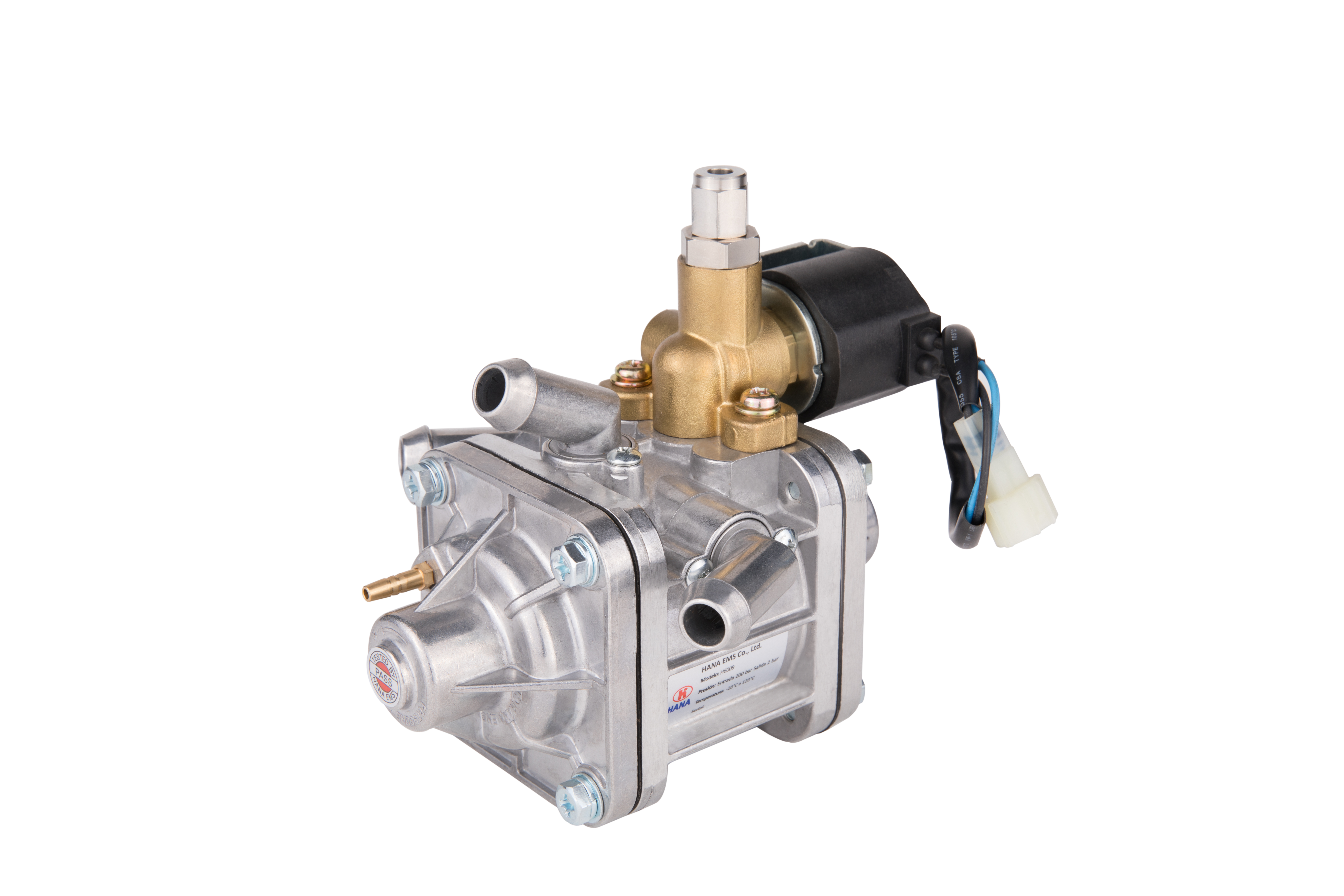 HANA H6009 is a Dual stage CNG vacuum system reducer. It is approved in accordance with the European...