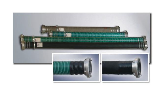 węże z wewnętrzną warstwą gumową SBR (która może pracować w zakresie temperaturowym od -30°C do 70°C...