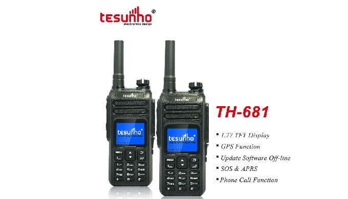 1. SOS/APRS (emergency button) 2. GPS function 3. Display the users/calling/last caller information ...