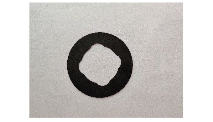 A washer is a thin plate (typically disk-shaped, but sometimes square) with a hole (typically in the...