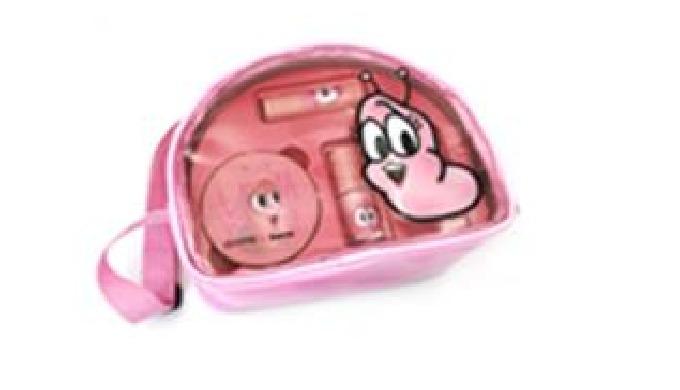 Celleanser Larva Pink Pure Makeup Set