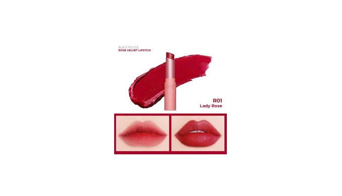 Black Rough Rose Velvet Lipstick wholesale