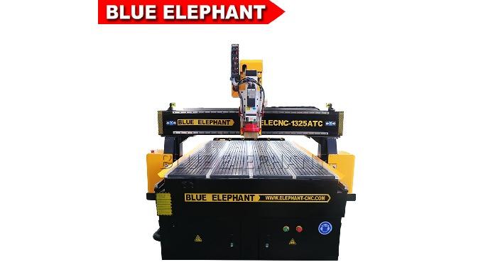 ELECNC-1325 atc wood cnc routeur machines pour la coupe de l'aluminium