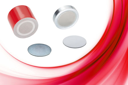 Elesa's industrial RMA flat disc retaining magnets and their sister RMP cylindrical series are shiel...
