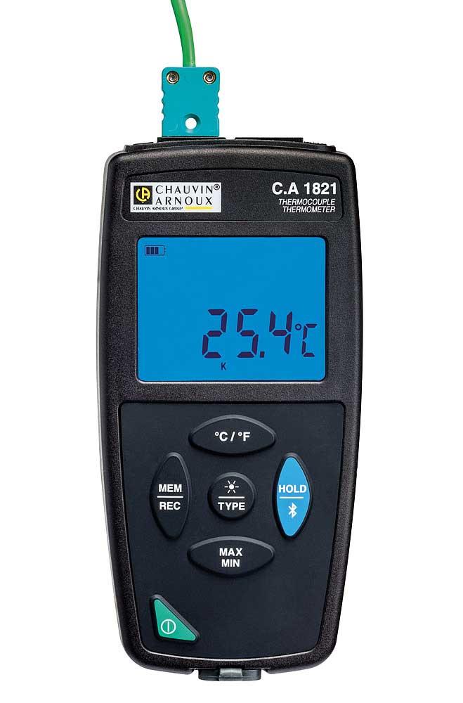 Compacts et aimantés pour une utilisation fixe ou portative les C.A 1821 / 22 / 23 sont des thermomè...