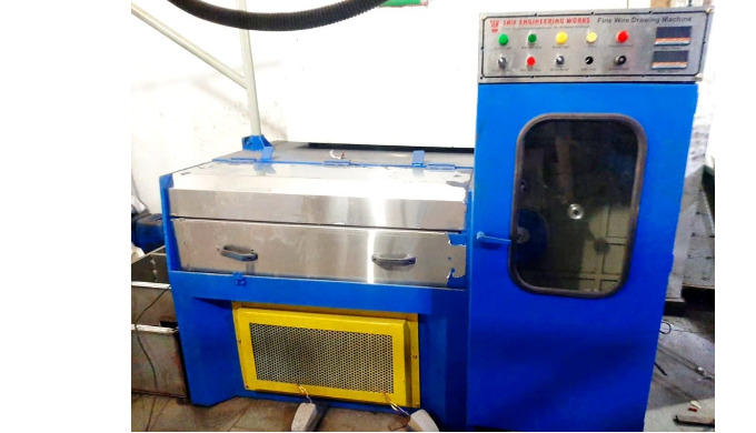 Wire Drawing High Speed Machine SWG - 16 To 36 MM Size - 1.628 To 0.1939