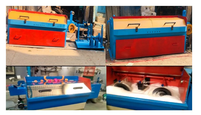 Wire Drawing Machine (SWG 12 TO 22) & (SWG 09 TO 16) All Type