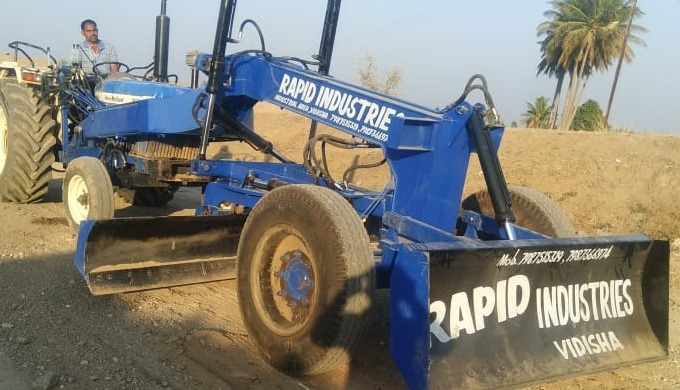 Call us on +91-7987366974 if you are Looking for a Grader Attachment for your Tractor, Because we ar...