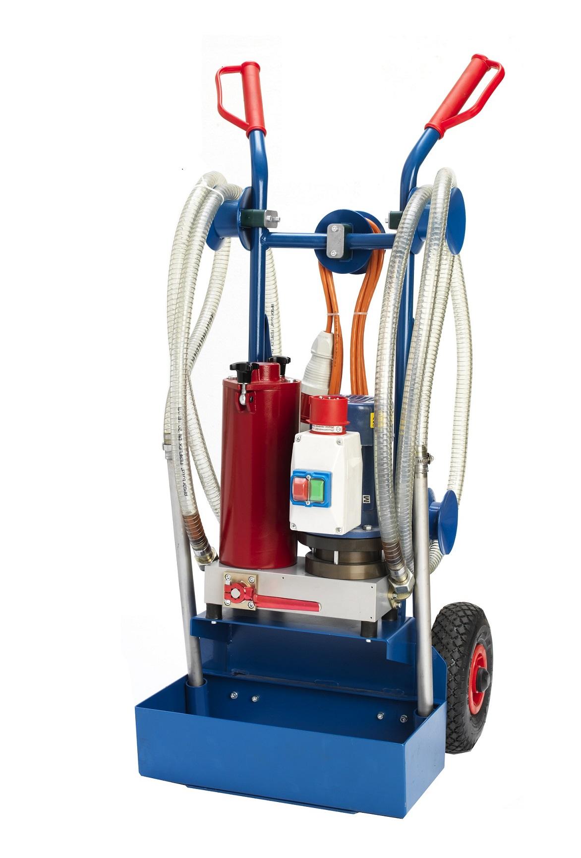 Pumpe: Pumpentyp: Gerotor-Pumpe Pumpenförderungsleistung: 15 - 35 l/min Pumpendruck: max. 5 bar Filt...
