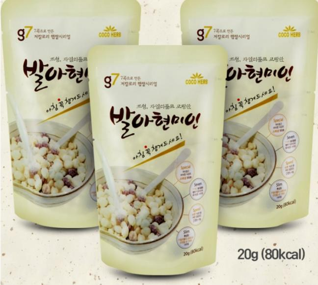 g7 Germinated brown rice Miyin