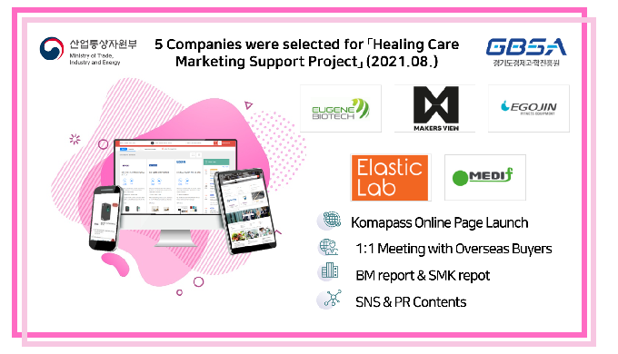 「Healing Care Marketing Support Project」 (2021.08.)
