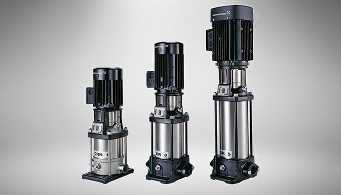 Large gamme de pompes Multicellulaires verticales : La pompe multicellulaire verticale CMV a été dév...