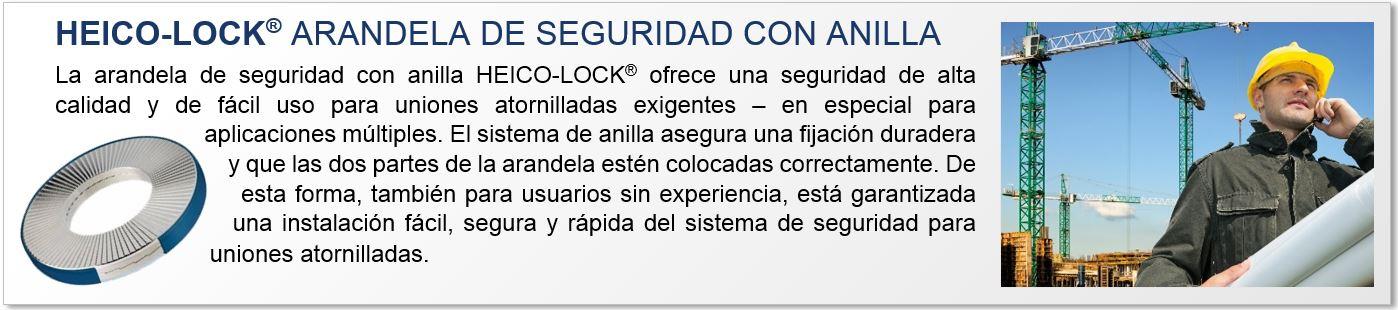HEICO-LOCK® arandela de seguridad con anilla