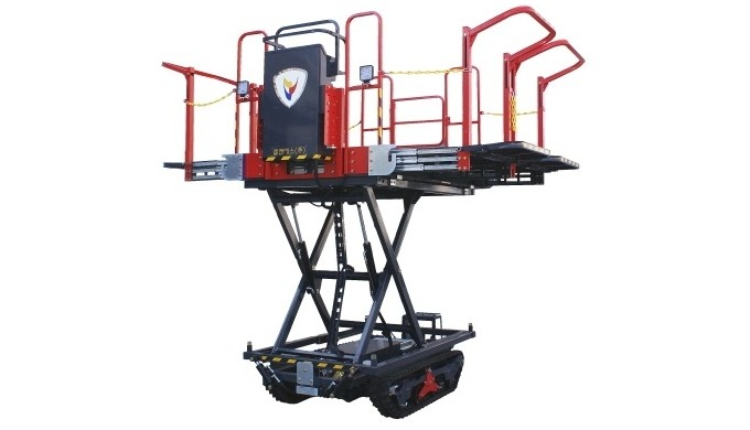 [LNS-H250] EV AERIAL WORK PLATFORM FOR ORCHARD AND FARM