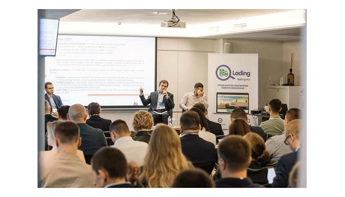 Партнером одразу чотирьох логістичних конференцій стала новітня транспортна платформа Lading.ua у тр...