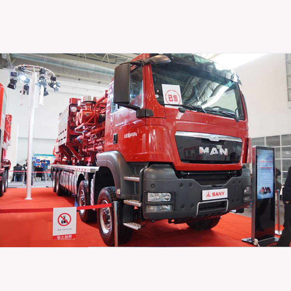 SANY SYN5380TYL1700 Fracturing truck Benefits& Features High pressure: High pressure rating, increas...