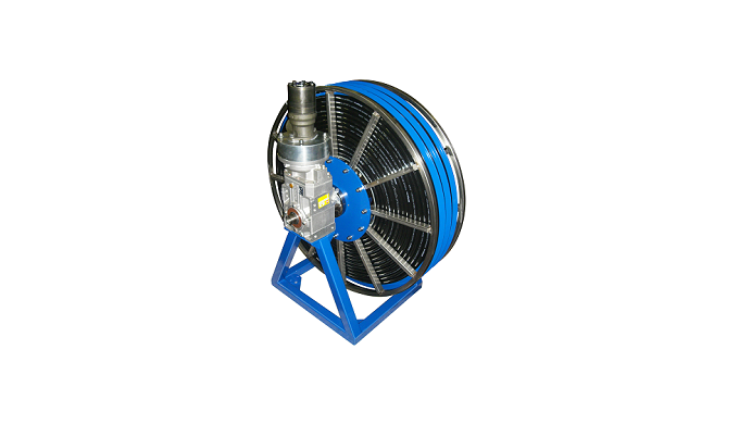 Avvolgitubo a motore / Motorized hose reel