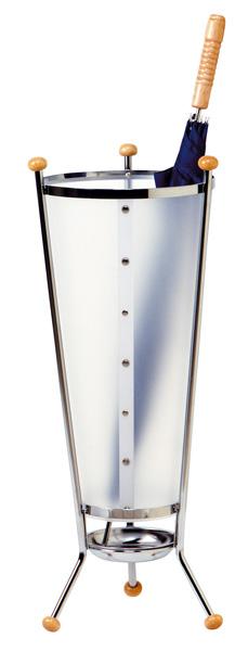 Avec son élégance et son design ce porte-parapluie est un véritable objet de décoration à disposer d...