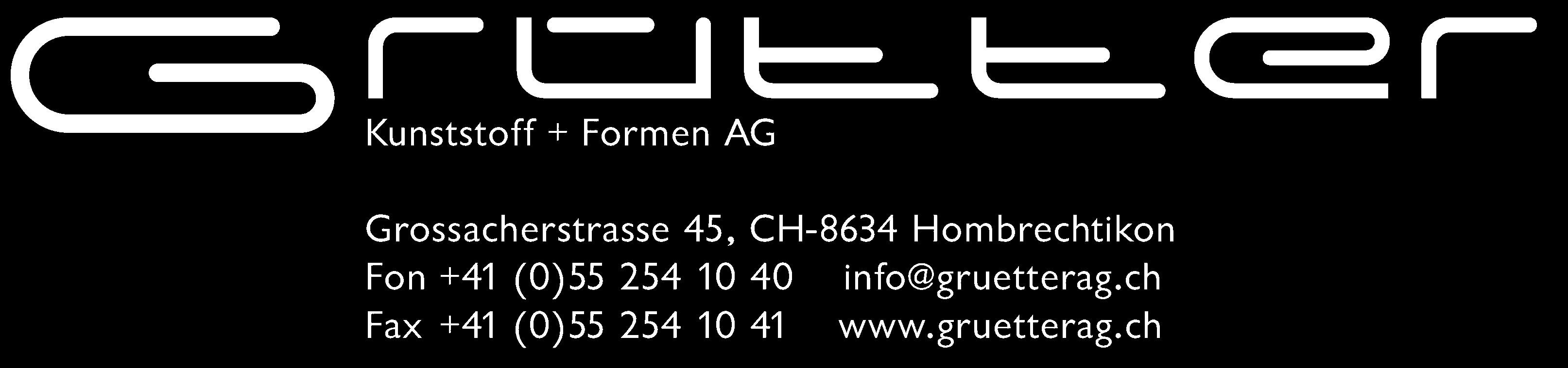 Grütter Kunststoff + Formen AG