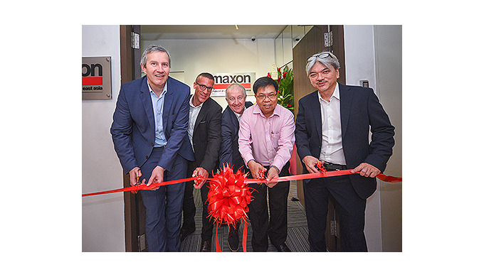 maxon strengthens its presence in South East Asia