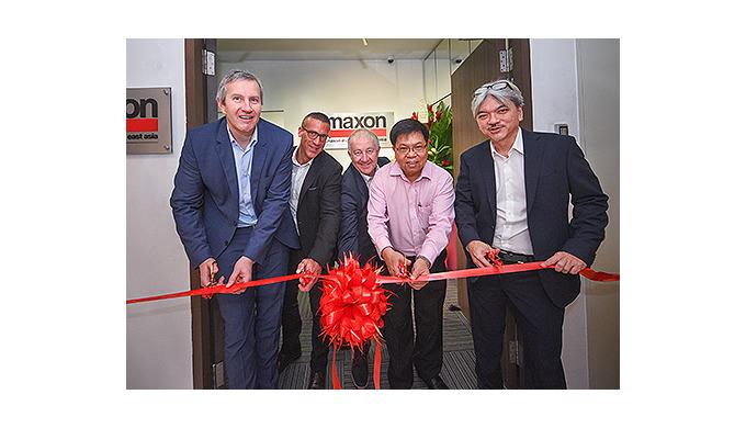 maxon renforce sa présence en Asie du Sud-Est
