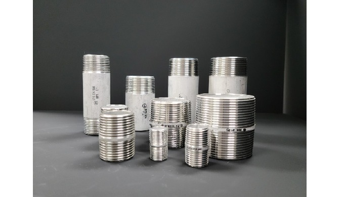 Stainless Steel Pipe Fitting-Nipple Male Thread
