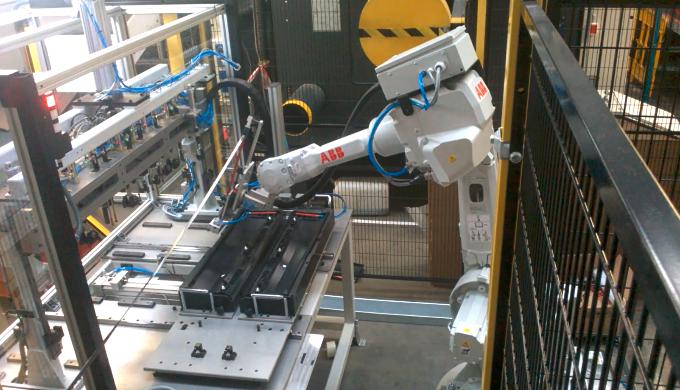 Automatic tape applying machines