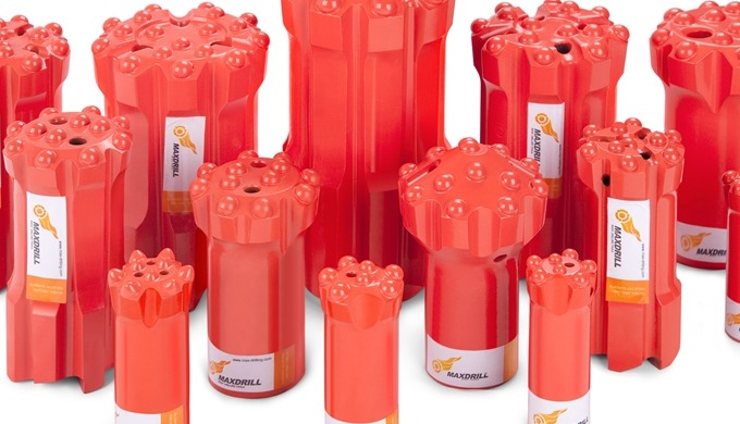 MAXDRILL is a professional manufacturers of quality rock tools, such as button bits, Retrac bit, Int...