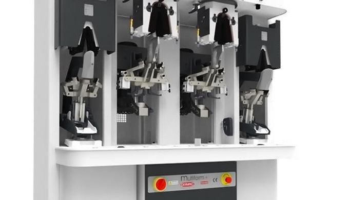 Moulding machine for backpart of upper OLYMPIC MULTI4