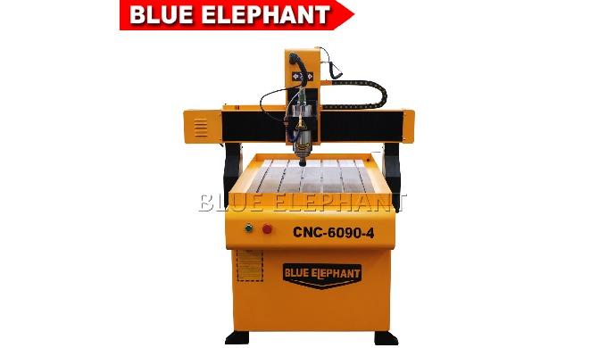 CNC-6090-4 Smart-CNC-Fräser für die Holzbearbeitung mit drehbarem Aufsatz