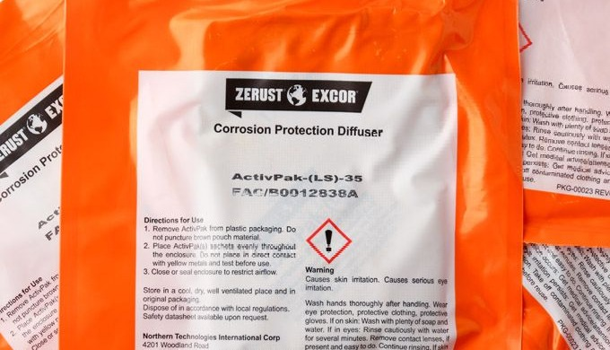 VCI-korroosionestoaineet | Zerust Activpak ® | Valdamark