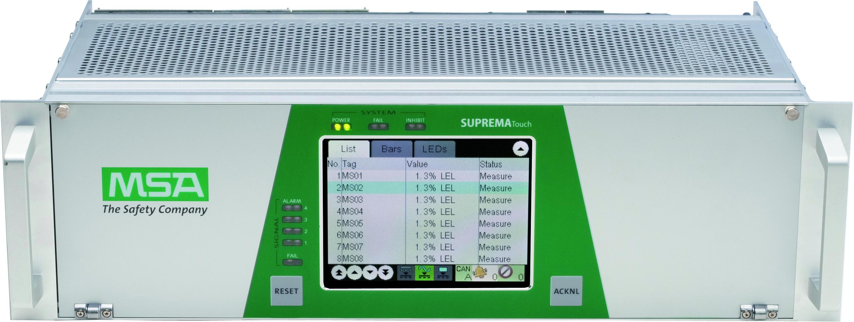 Le SUPREMATouch est un système d'alerte feu et gaz destiné à la détection et la surveillance sur les...