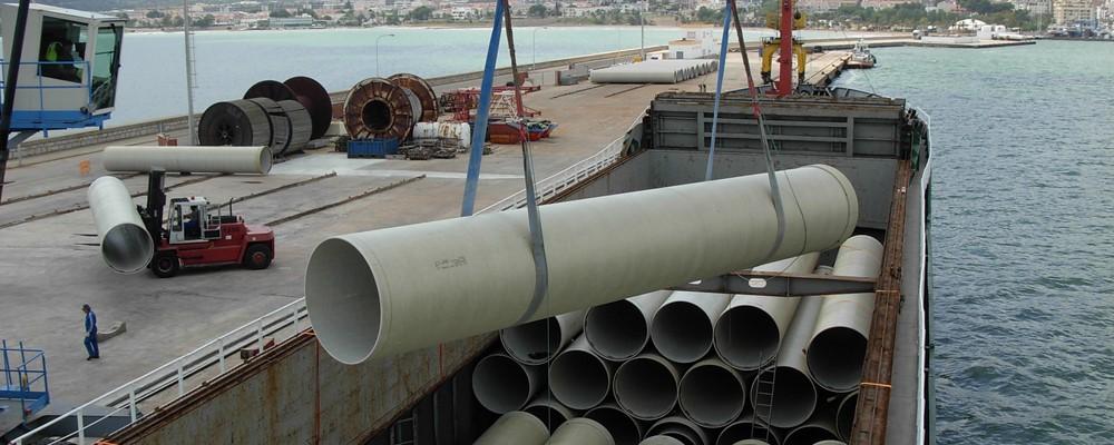 GRP-rørsystemer som er produsert av Amiantit Europe leveres til alle europeiske land. I samarbeid me...