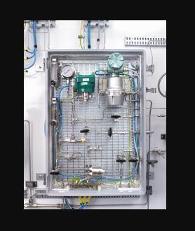 Analyseur HGC 303, chromatographe pour gaz