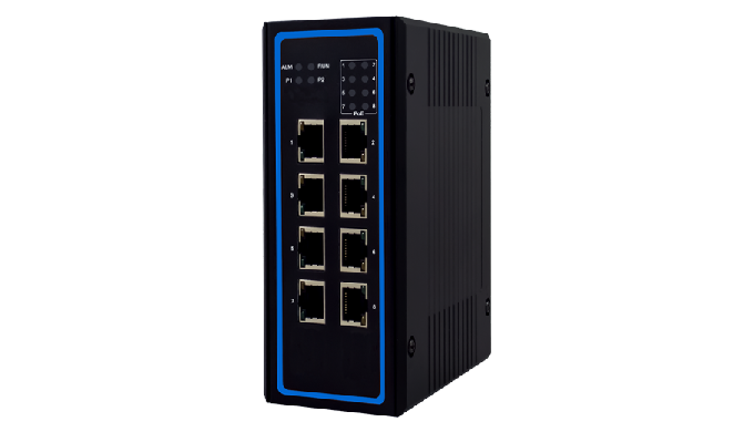 EHG6408 Series / Industrial Ethernet Switch / Advanced Unmanaged Switch