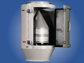 Trubkový magnetický separátor využívá magnet válcového tvaru umístěný ve středu trubky. Upravovaný m...
