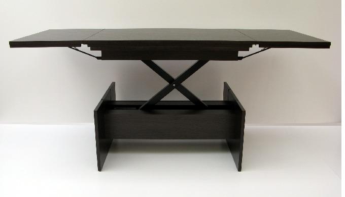 Стол-трансформер Акробат, стол раскладной, журнальный, обеденный