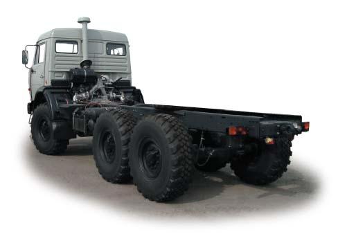 Sasiuri de camioane KAMAZ.