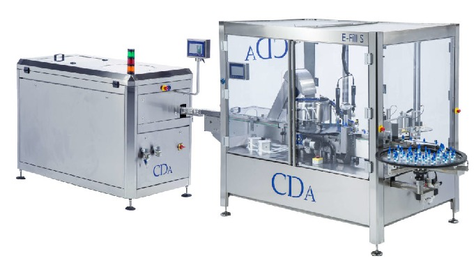 E-Fill S - complete packing line