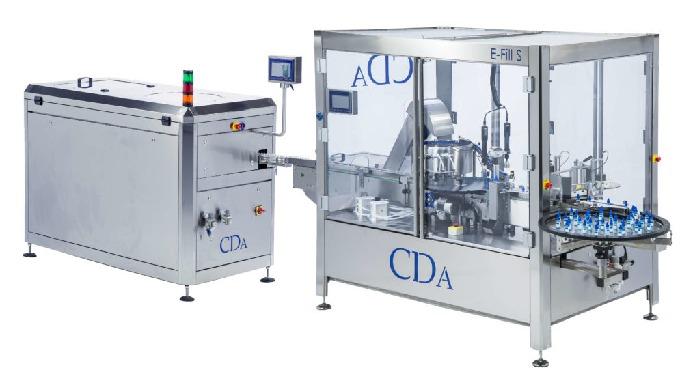 Conçue par la société CDA, la E-fill S est une chaîne de conditionnement automatique complète, c'est...