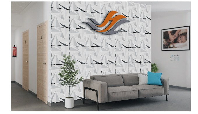 3D wall panel - ORIGAMI