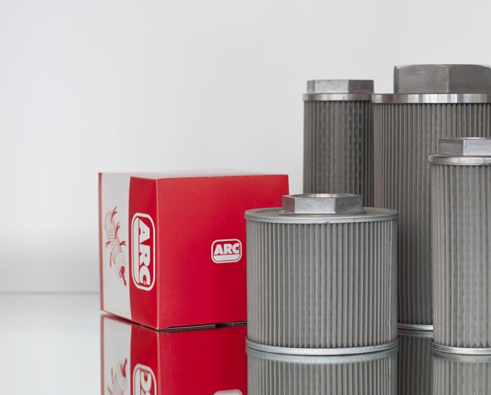 Recambio elementos de filtros hidráulicos. Filtros ARC. Especialistas en filtros hidráulicos. Filtro...