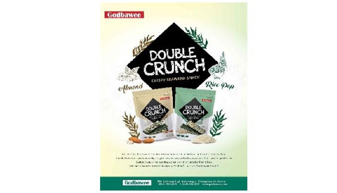 Double Crunch Seaweed Snack | seaweed snacks healthy