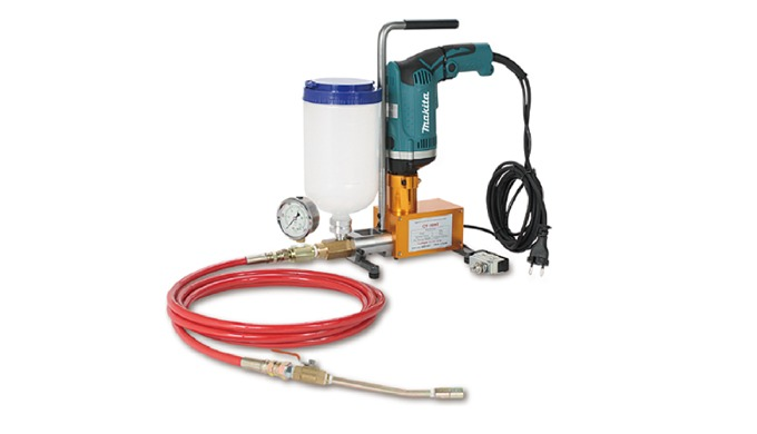 Injection pump High pressure Grouting Injection pump for Epoxy resin and Polyurethane foam Eletric D...