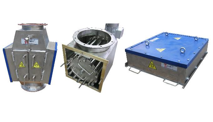 Железоотделители, сепараторы и металлоулавливатели