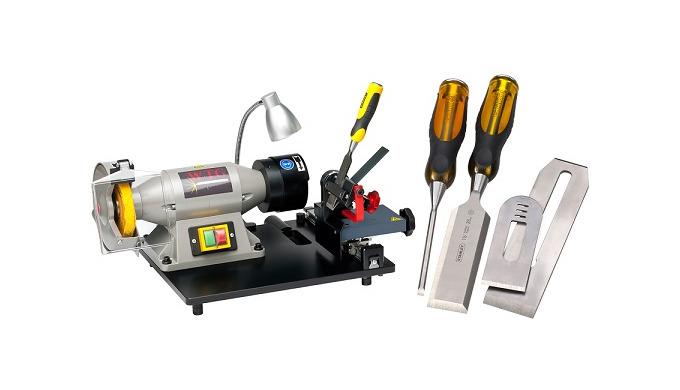 Stechbeitel & Hobelmesser- Schleifmaschine WTG-1 / Wood-Tool- Grinder
