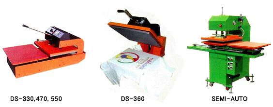 Heat Press M/C [DS-330,470, 550 / DS-360 / SEMI-AUTO]